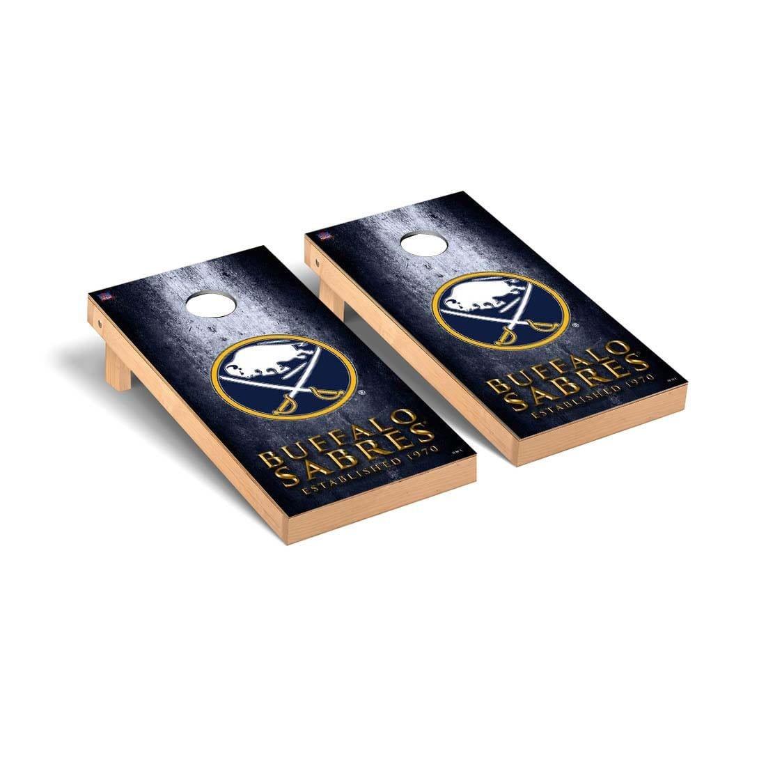 Victory Tailgate Buffalo Sabres NHL Regulation Cornhole Game Set Museum Version