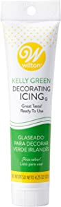 Food Items Icing Tubes 4.25OZ GRN, us:one size, Kelly Green