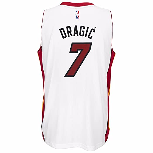 ... Amazon.com Goran Dragic Miami Heat NBA Adidas White Official Climacool  Home Swingman Jersey For ... 3e16bd61c