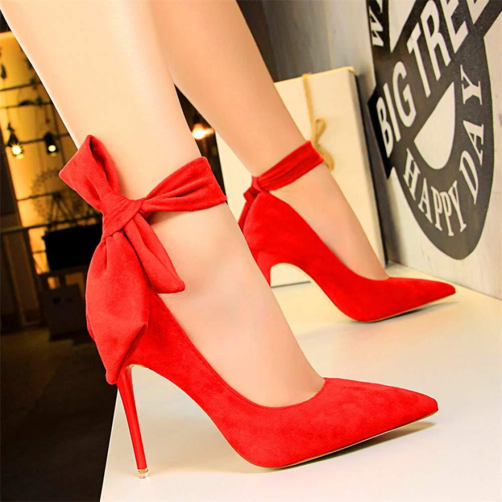 XSY Klassische Ankle Lace-Up Bowknot Frau Schuhe High Heels Schuhe Party Schuhe Mode Frauen Pumps    Erste Gruppe von Kunden    Queensland