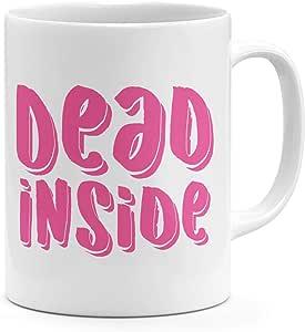 Loud Universe Dead Inside Pink Mug