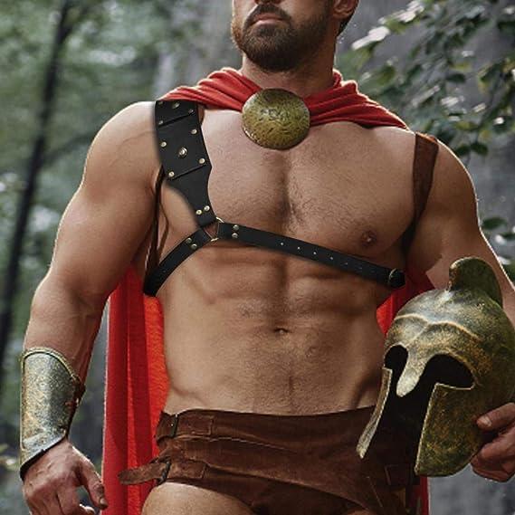 Schwert Schulter Rückenscheide Mittelalterlicher Frosch Halter Männer Kostüm