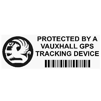 5/x Opel dispositivo de seguimiento GPS Tracker Alarma de Seguridad Pegatinas para ventana 87/x 30/mm-car