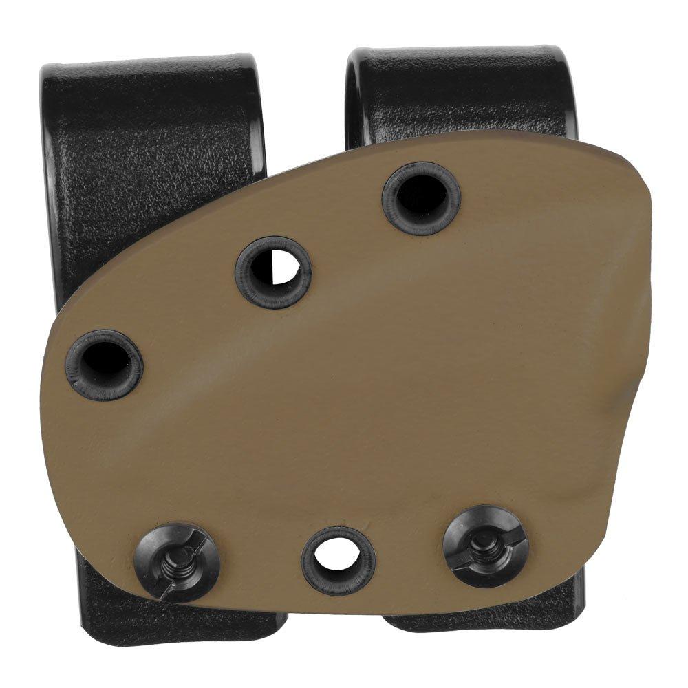 ミニマリストDesigned ka - Bar 2」TDIシースby Galloway Precision B078SGBHS6 Double Belt Loops|ブラウン(coyote brown) ブラウン(coyote brown) Double Belt Loops