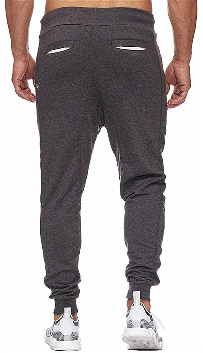 QZH.DUAO Mens Slim Fit Jogger Pants