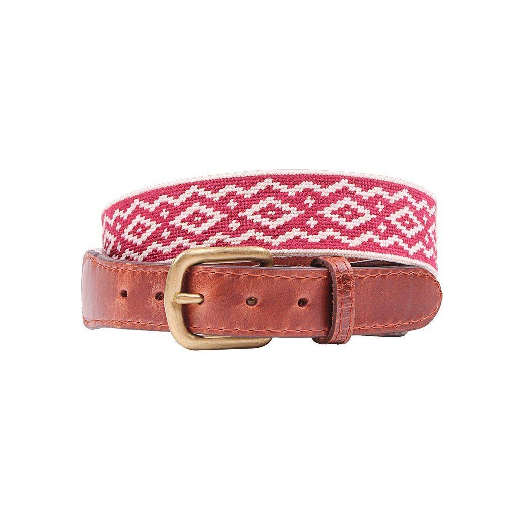 Andes Gaucho Needlepoint Belt by Smathers & Branson