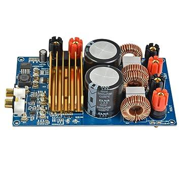 TOOGOO F/ür Tpa3255 Klasse D HiFi Audio Digital Verst?rker Platine 300 Watt x 2 Dc 48 V Digit Power Amp Circuit Module