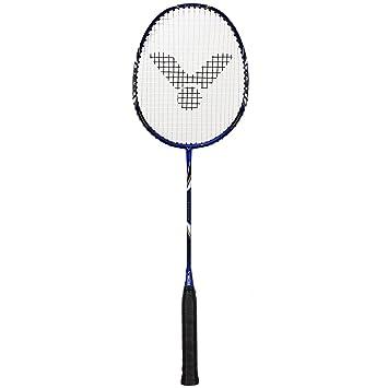 6bd630b95ce Victor V-3100 Magan Badminton Racket - Blue Black White Gold - 93g ...