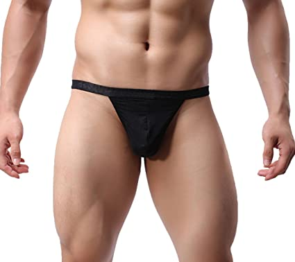 2b03bc2f6092 adorneve Man Transparent G-String Underwear Bikini Briefs Pack of 4 - -  Medium: Amazon.co.uk: Clothing