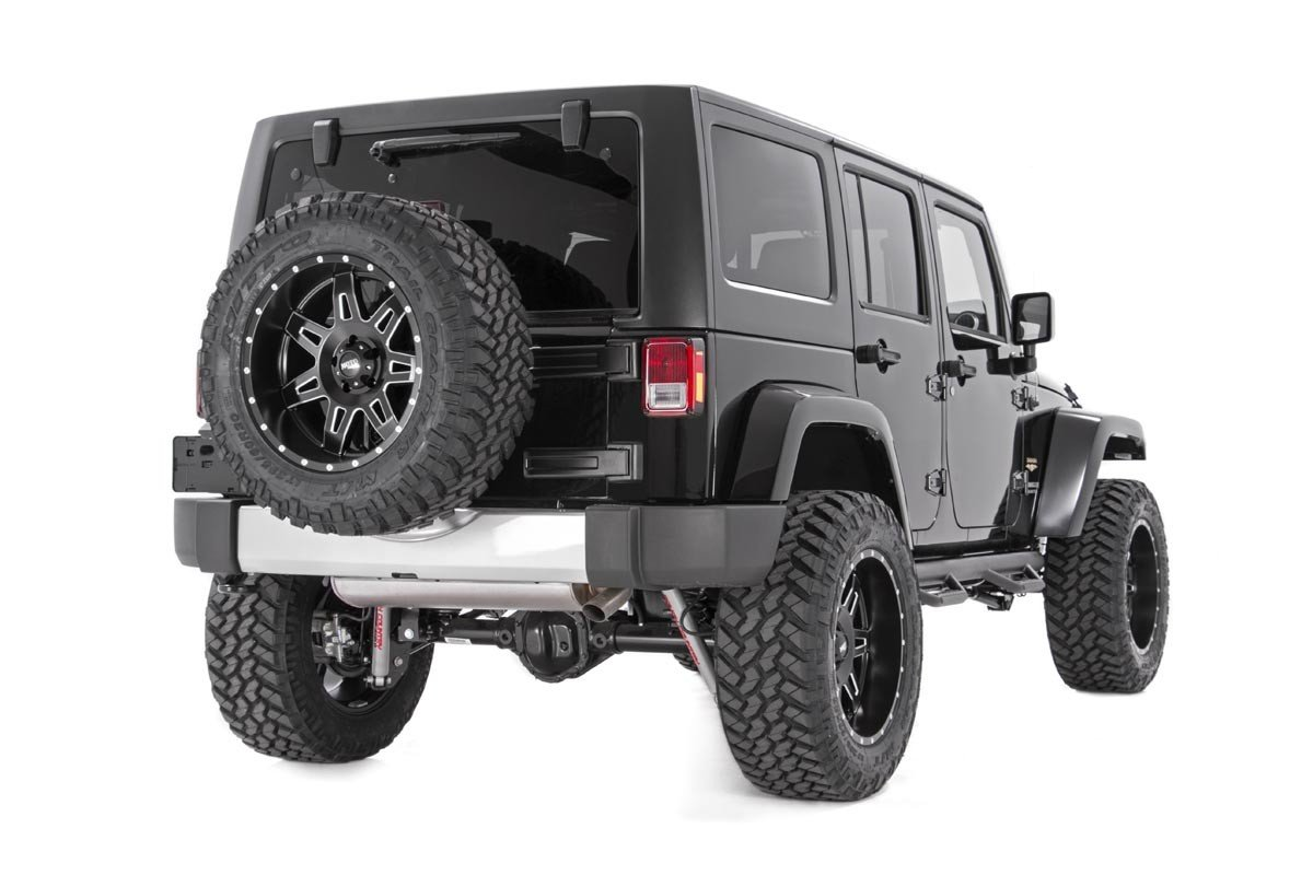 Rough Country 1053 Rough Country-1053-Spare Tire Carrier Spacer for Select Years: 4WD Jeep JK LJ TJ Wrangler YJ