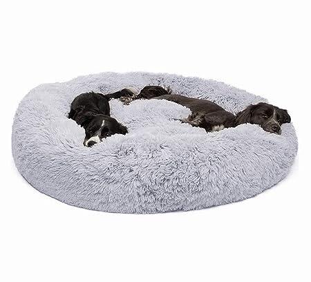 RTYUIIO Cama para Perros Cama para Gatos Cachorro Redondo ...