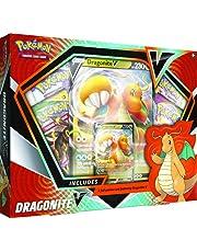 Pokémon USA, Inc., Pokémon TCG verzamelkaartspel: Dragonite V Box, kaartspel, vanaf 6 jaar, 2 spelers, meer dan 20 minuten speelduur, Engelse versie
