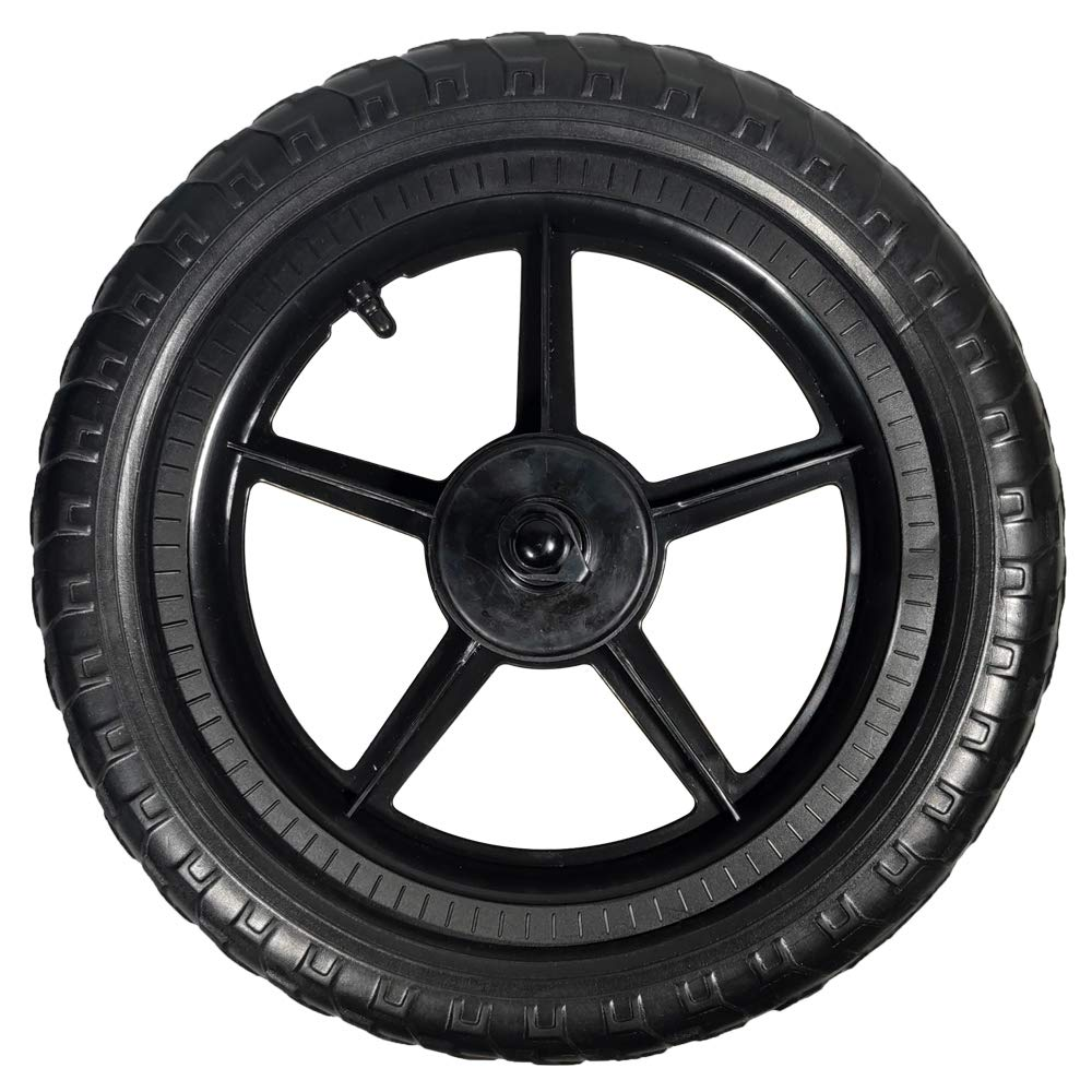 Replacement Balance Bike Wheels, 12 Inch EVA Polymer Foam Tire Air Free Tire