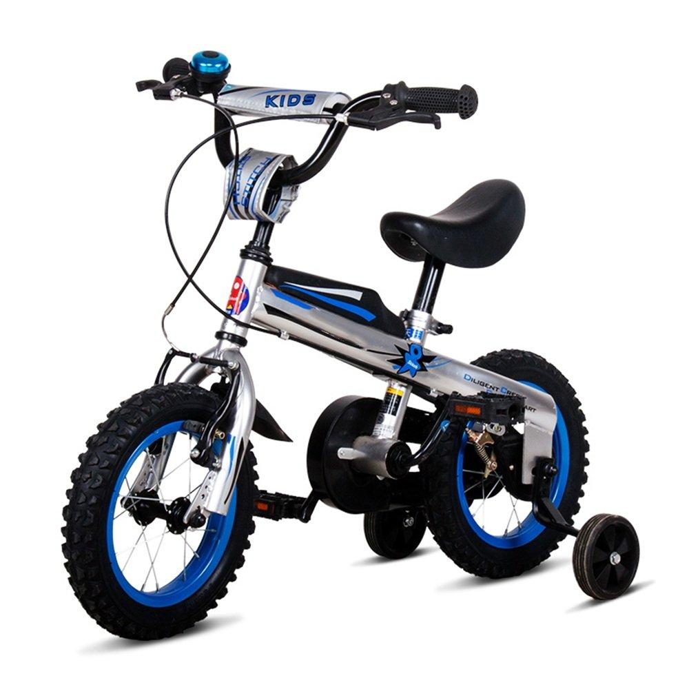 YANGFEI 子ども用自転車 屋外の子供の運動のバイクの少年と少女のベビーカーベビーカーの子供の自転車12/14/16インチ 212歳 B07DWPJ248 14 inch