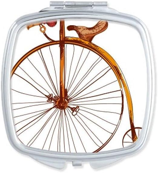 Old Moda Bicicleta Alta Rueda Gran Bretaña Pintura Cuadrado ...