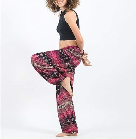 MAOMEI Pantalones de Yoga tailandeses con Gota de Agua, Bloomers ...