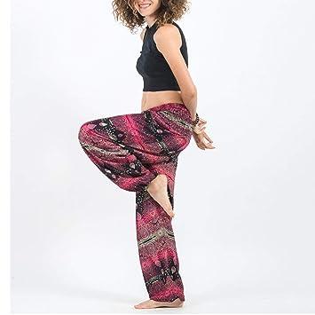 MAOMEI Pantalones de Yoga tailandeses con Gota de Agua ...