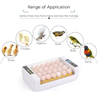 Docooler 24-Eggs Intelligent Automatic Egg Incubator Temperature Control Hatcher for Hatching Chicken Duck Bird Quail Poultry AC220V AU Plug