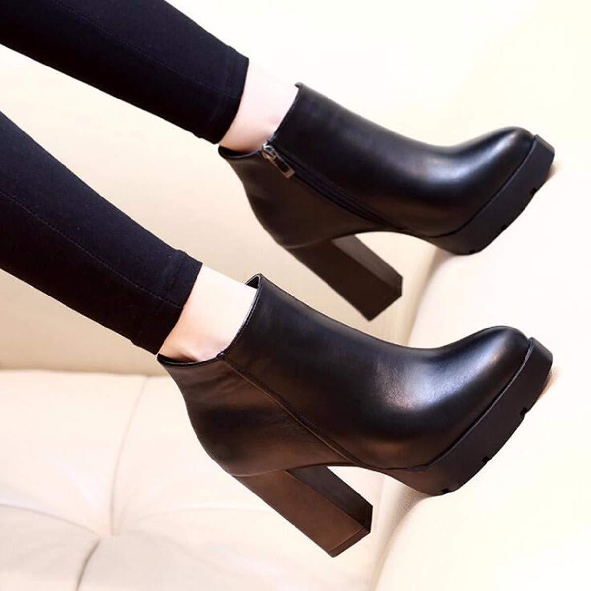 HBDLH Damenschuhe Martin Stiefel Meine Damen Damen Damen High Heels Kurze Stiefel Mit Stiefeln Damen - Stiefel und Stiefeletten Damen - Schuhe 9Cm 3a66df