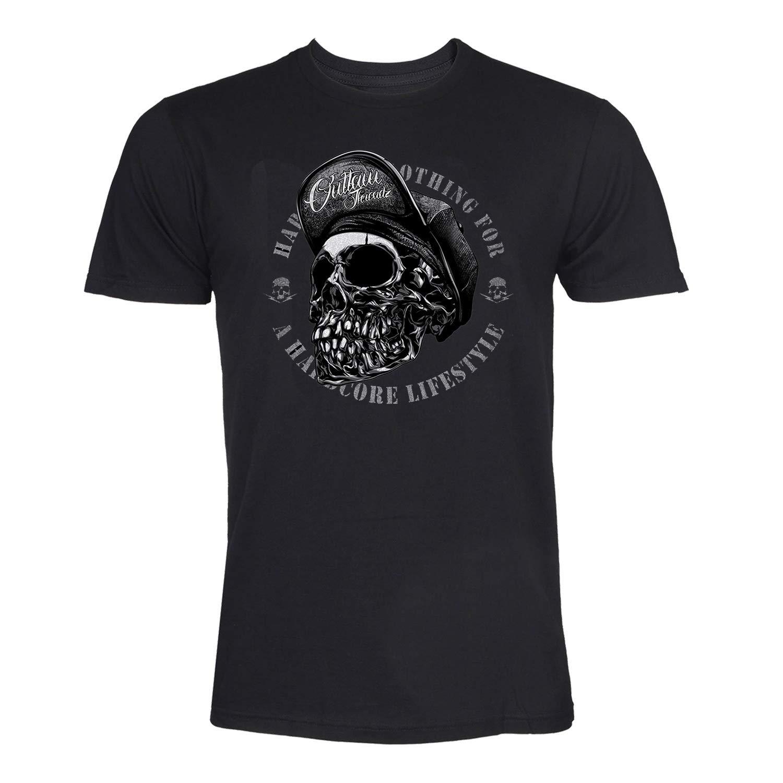 Norton Moto Guzzi Indian Motorcycles Cafe Racer Tayl819 Mens West Coast Choppers Skull Logo Bike Biker Motorbike Motorcycle Black T-Shirt Short Sleeves Bottoming T Shirt Tops Clothing