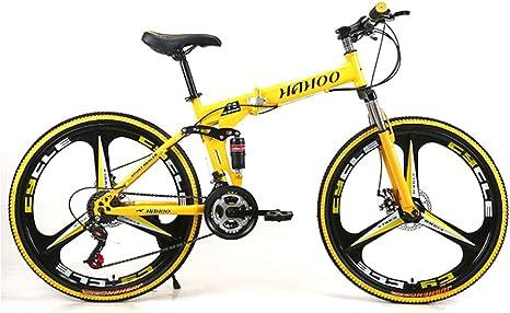 Bicicleta De Montaña Plegable, Bicicleta De Carretera De Doble ...