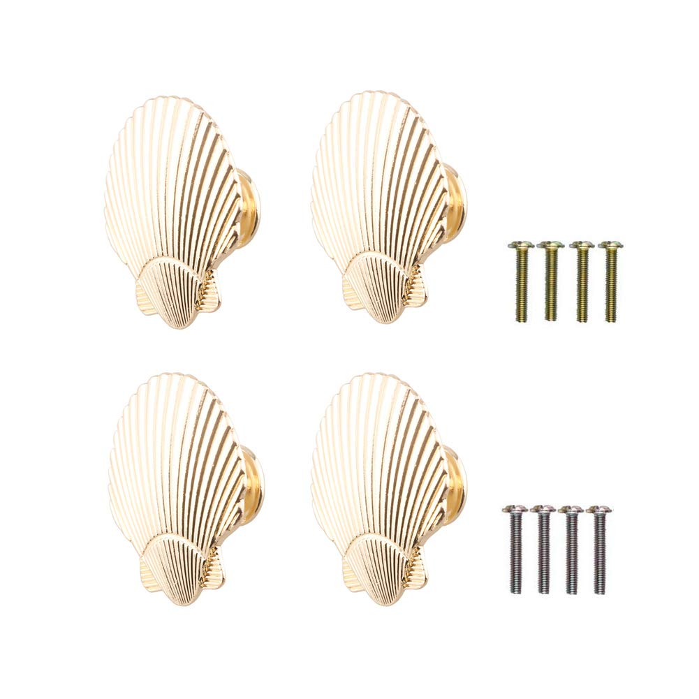 4 Tiradores de Metal Dorado (7Z1F9YZK)