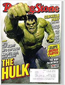 ROLLING STONE Magazine (May 7, 2015) The HULK