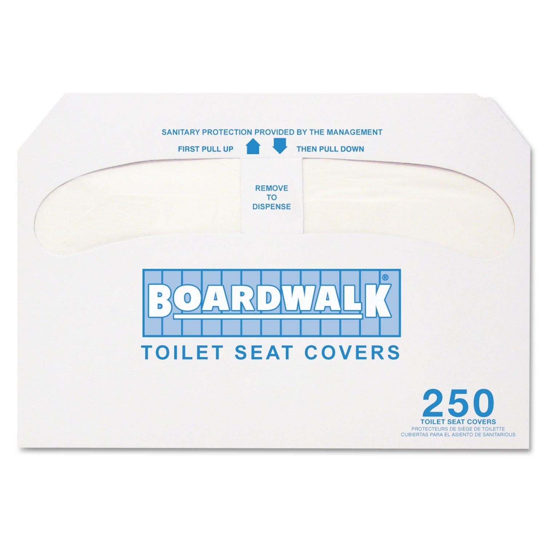 hot sale Boardwalk K5000 Premium Half-Fold Toilet Seat Covers, 250 BWKK5000