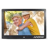 """Andoer 13"""" TFT LED Digital cadre de photo haute résolution 1280*800 publicité Machine MP3 MP4 Movie Player réveil avec télécommande"""