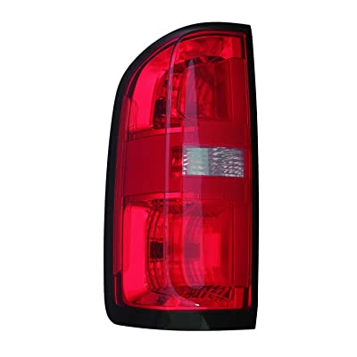 2015-2020 Chevrolet Colorado Driver Side Tail Light Assembly [Gm] Partslink GM2800270C: Automotive
