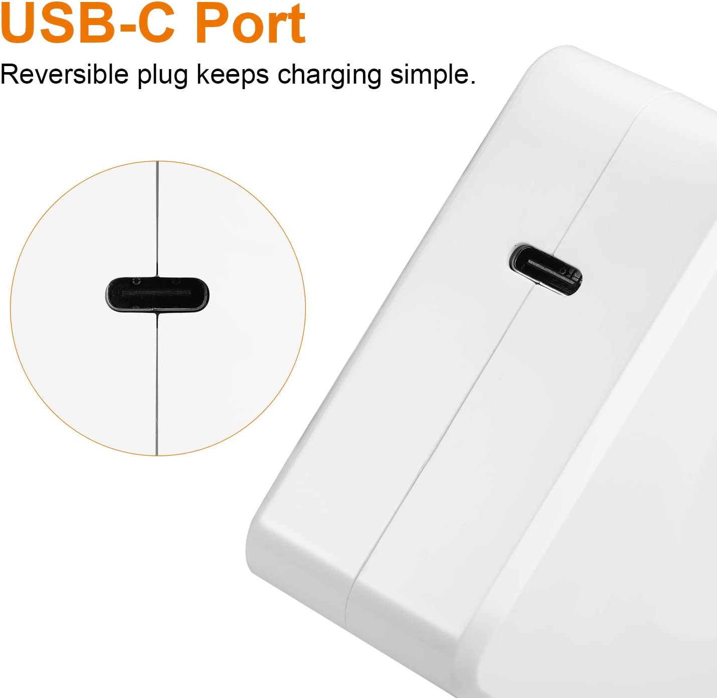 Meonxy 45W PD 3.0 Type C Fast Charging Power Adapter with USB Type C to USB 3.0 Adapter Ipad Pro 2018 and More USB C Wall Charger White Compatible with iPhone 11//Pro//Max MacBook Pro//Air