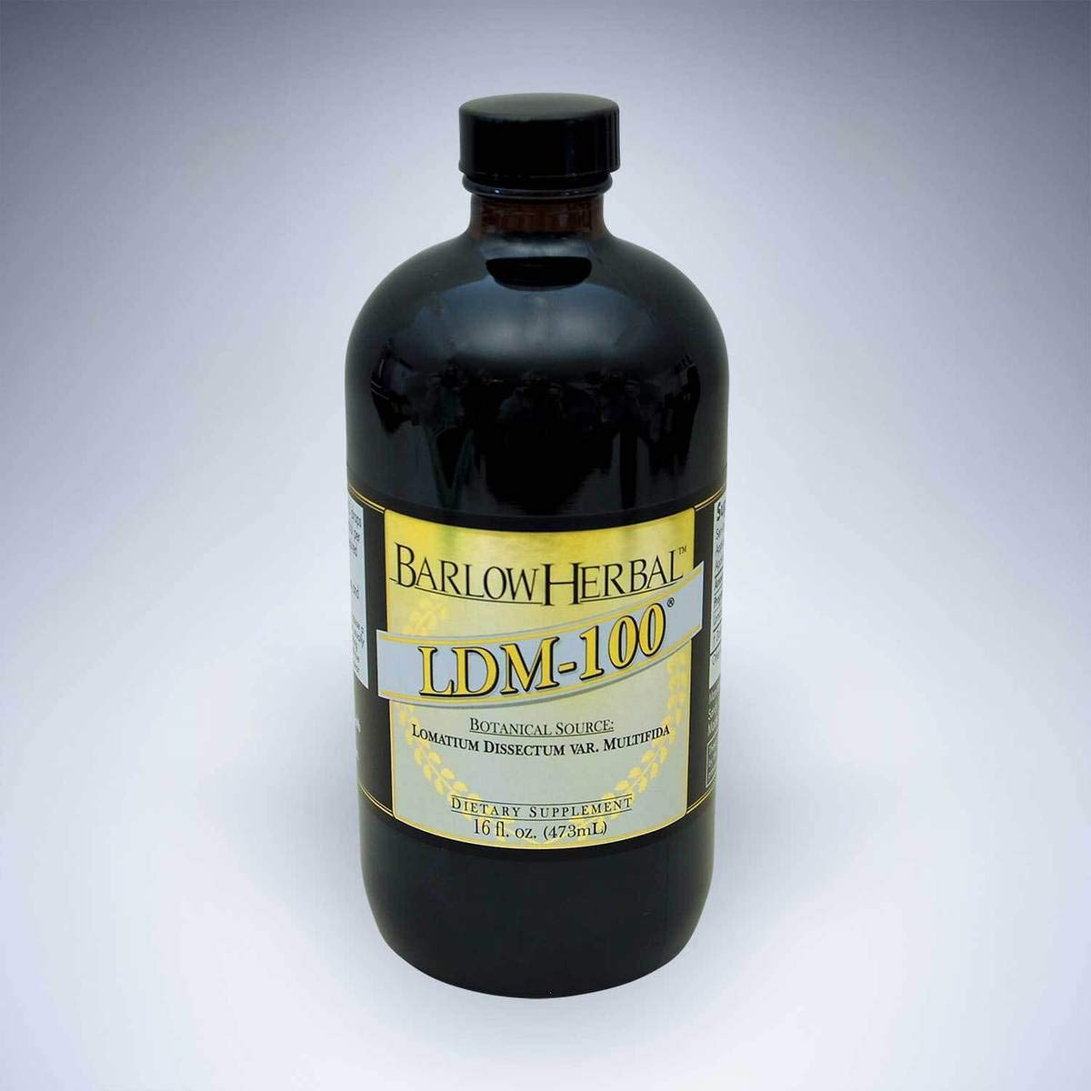 Barlow Herbal LDM-100 - Lomatium Dissectum Tincture - 16 fl oz