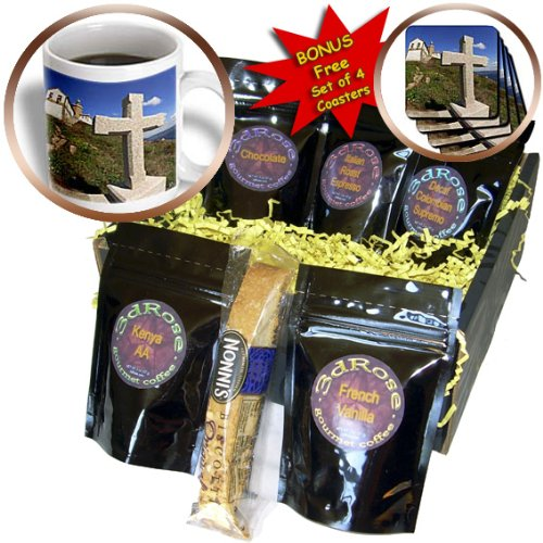 cgb_10607_1 Kike Calvo Spain - Cape Finisterre Galicias version of Englands Lands ends at Spain and Atlantic Ocean begins - Coffee Gift Baskets - Coffee Gift Basket