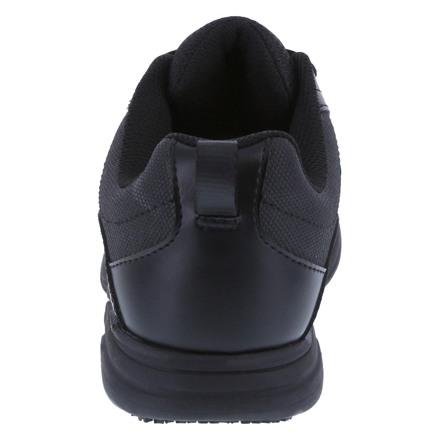 safeTstep Slip Resistant Women's Black Women's Athena Sneaker 7 Regular by safeTstep (Image #3)