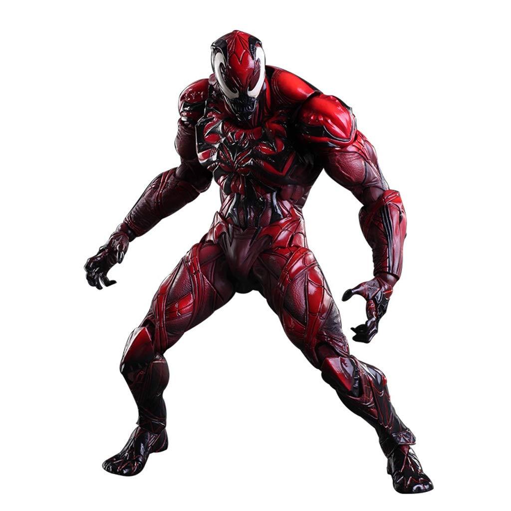 DS- Giocattoli Venom Cletus Kasady Carnage Riproduci Arts Kai Action Figure, Marvel Premier Collection  Venom Resin Statue   9 '' (Limited Colore Version) &&