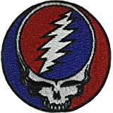 C&D Visionary P-1216 Grateful Dead Steal Your Face Patch