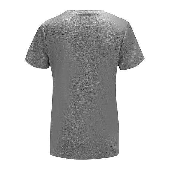 Amazon.com: refulgence Women Adult American Flag Baseball Printed T-Shirt Short Sleeve Casual Tops Blouse: Clothing
