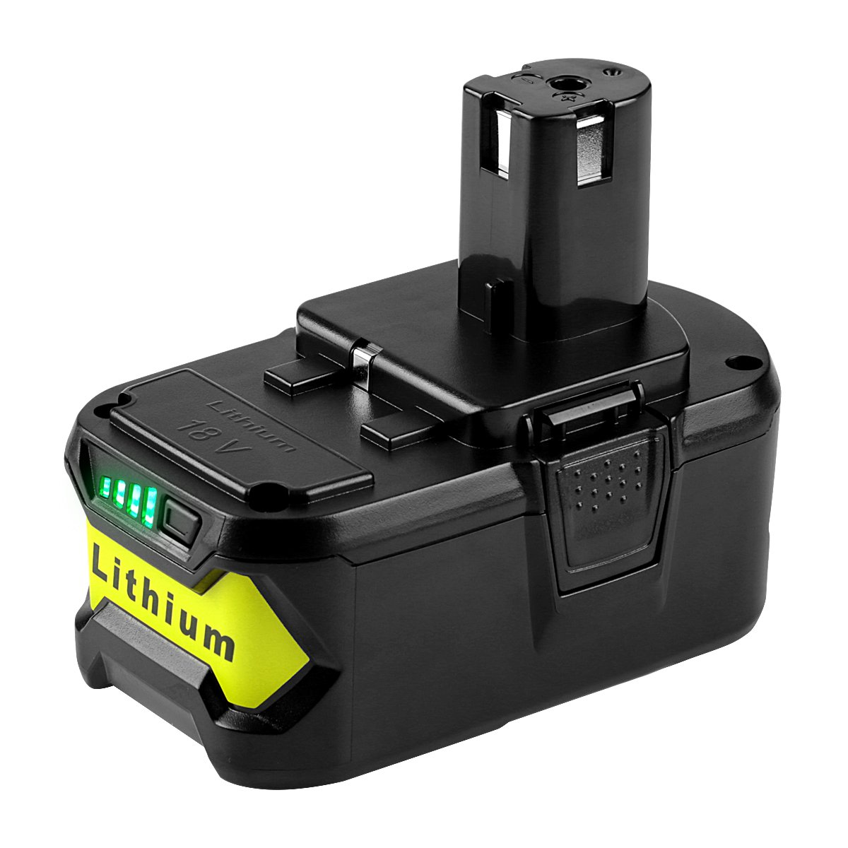 Powilling 5000mAh Ryobi 18V Lithium Battery Replacement for Ryobi 18-Volt 18L50 ONE+ P104 P105 P102 P103 P107 P108 P109 Tool