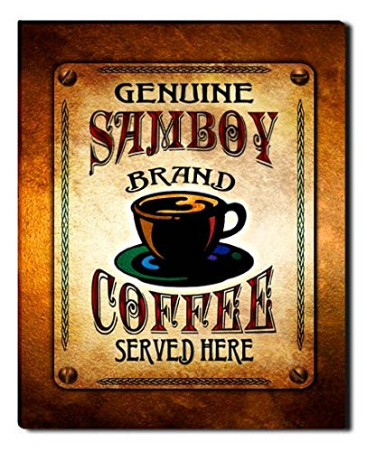 samboy-brand-coffee-gallery-wrapped-canvas-print