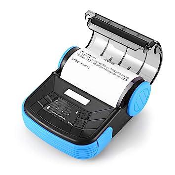 YHML Impresora De Etiquetas Térmicas, Bluetooth Portátil ...