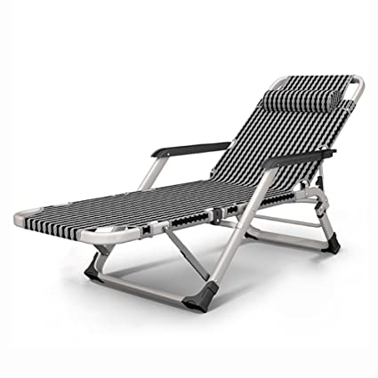 ZXL Recliner Chairs Summer Household Beach Sun Lounger Multifunction  Folding Portable Deck Chair