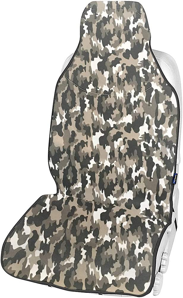 CStern Camouflage Camo Waterproof Sweatproof Universal Seat Cover Protector for Car SUV Truck Van Driver Seat//Front Passenger Seat