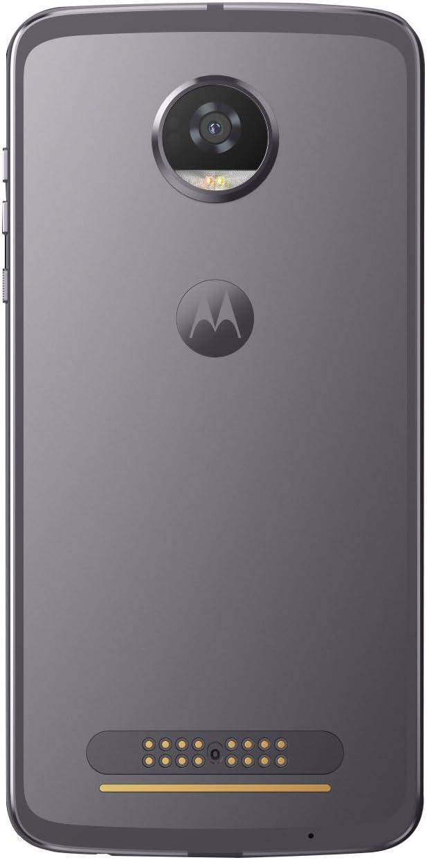 Motorola Moto Z2 Play - Smartphone Libre Android 7 (Pantalla de 5.5 Full HD, 4G, cámara de 12 MP, 4 GB de RAM, 64 GB, Qualcomm Snapdragon 626 de 2,2 GHz) Gris Lunar: Motorola: Amazon.es: Electrónica