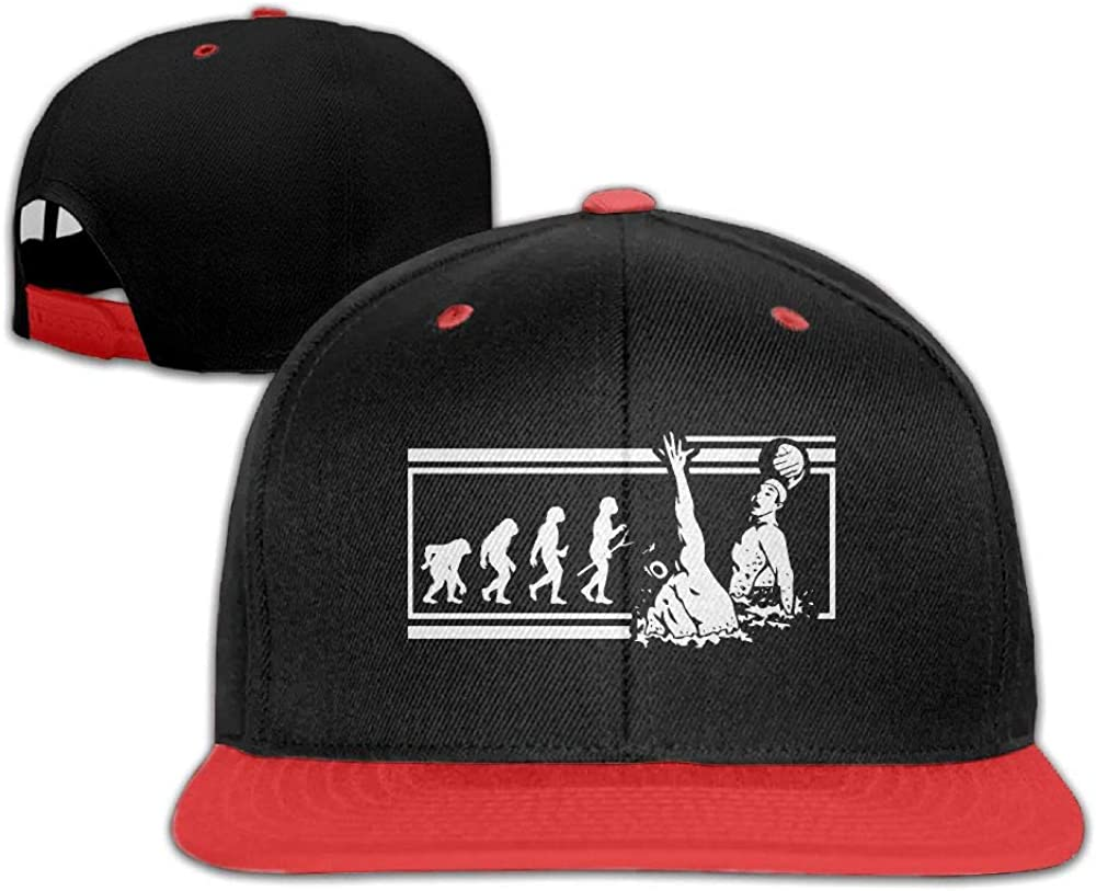 Tailing Water Polo Evolution Unisex Hip-hop Hats Snapback Hat Solid Flat Cap