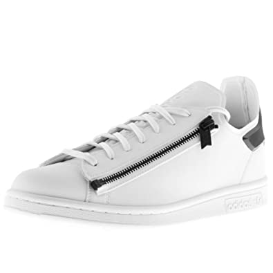 0eec2a867 White Mens Y3 Stan Zip Trainers White - 11 (46)  Amazon.co.uk  Shoes   Bags