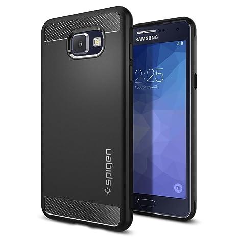 3945c4e07c89dc Spigen Coque Samsung Galaxy A5 2016,  Rugged Armor  Resistant  Noir   Protection