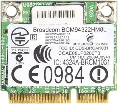 Amazon.com: Generic bcm4322 bcm94322hm8l Wireless WiFi WLAN ...