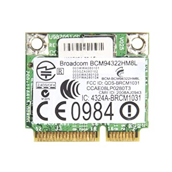Amazon.com: Generic bcm4322 bcm94322hm8l Wireless WiFi WLAN ...
