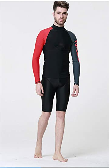 Amazon.com: Dive NANVH Adult Long Sleeve Wetsuits Neoprene ...