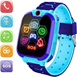 HuaWise Kids Smartwatch[SD Card Included], Waterproof Smartwatch for Kids with Quick Dial, SOS Call, Camera and Music…